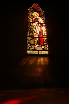CHURCH WINDOW by chris .p, via Flickr