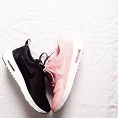 I need these pink Nike's in my life!