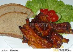 Ribs from Kolkovna - Žebírka z Kolkovny recept - TopRecepty. Korn, Ribs, French Toast, Chicken, Meat, Cooking, Breakfast, Kitchen, Morning Coffee
