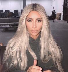 Kim Kardashian West #makeup