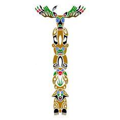 Native American Totem Poles | Native American Totem Pole Tattoos http://www.tattoowoo.com/index.php ...