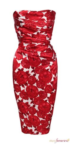 rose red dress- great for Valentines Dinner!