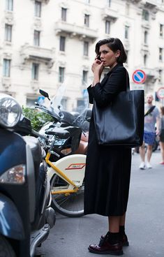 Tendance Chaussures On the Street.Piazza Oberdan Milan (The Sartorialist)