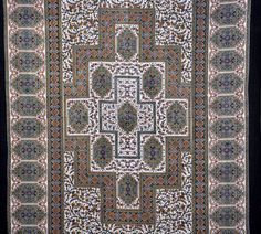 Indian Tapestry Mandala Hippie Printed Black Cotton Decor Single Bed Sheet  #IndianTapestries