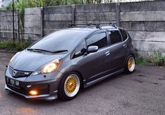Honda Jazz, Honda Fit, Fit Car, Car Mods, Small Cars, Vroom Vroom, Worlds Of Fun, Dinosaurs, Jdm