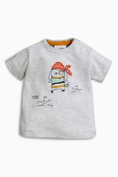Buy Grey Character T-Shirt (0mths-2yrs) online today at Next: Hungary