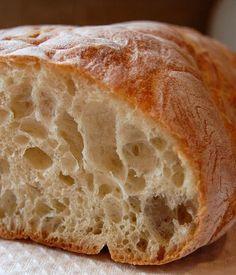 Ciabatta Bread...an easy and very crusty rustic bread
