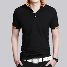 Brand New Fashion Polo Shirt Men Cotton Casual Breathable Short Sleeve Solid Fitness Shirt Men Camisa Polo Shirt Plus Size Price history. Fashion Moda, Golf Fashion, Mens Fashion, Polo Shirt Colors, Striped Polo Shirt, Moda Chic, Moda Boho, Business Casual Men, Men Casual