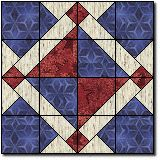 Fort Sumter free quilt block pattern