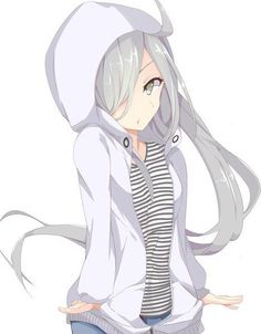 Anime picture with kantai collection asashimo (kantai collection) demero long hair single tall image blush looking at viewer open mouth simple background white green eyes fringe silver hair hair over one eye eyelashes striped hands in pockets girl hood Simple Backgrounds, Silver Hair, Green Eyes, Animation, Long Hair Styles, Pictures, Collection, Anime Girls, Characters
