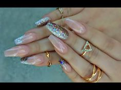 Elegant Fall Nails - YouTube
