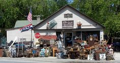 Ed's Stuff, Woolwich, Maine - LOL I used to pass this place almost every day when I was a little girl living in Wiscasset!