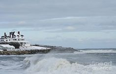 Photograph - Water Front In Rye, Nh by Barbara S Nickerson