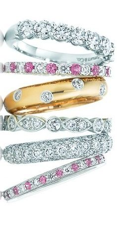 Tiffany & Co.♥✤ | Keep the Glamour | BeStayBeautiful I would love one of these for my wedding band! #oakridgestyleheist