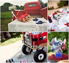 All American Wedding Inspiration!   #W101Nashville #AmericanWedding #NashvilleWedding
