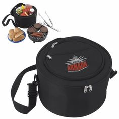26021 - KOOZIE® Portable BBQ with Kooler Bag #tailgating #koozie #livebicgraphic