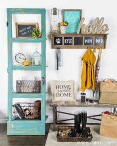 Raincoats, galoshes, umbrellas—oh my! April showers are here, but they don't have to mean wet, muddy entryways. Set up a place for everyone to store their rain gear as soon they come in the house.