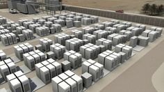 The Tesla energy storage system for utilities can be scaled to over 10 MWh