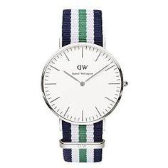 Daniel Wellington Men's 0208DW Analog Display Japanese Quartz Multi-Color Watch