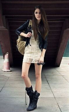 221e02f6c13d Discover this look wearing Black Bershka Boots