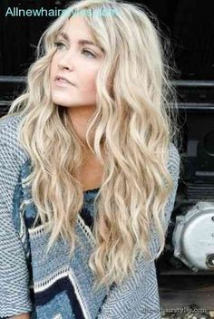 Return To Beach Wave Perms For Long Hair HairstylesAmazing