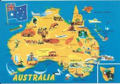 Map shows best tourist and travel locations in australia Australia Map, Visit Australia, York Peninsula, Tourist Map, Country Maps, Travel Party, Largest Countries, Amazing Destinations, Travel Destinations
