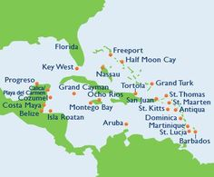 Fascinating world map includes countries ocean territory in their western caribbean cruise gumiabroncs Images