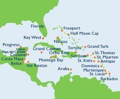 Western Caribbean cruise.