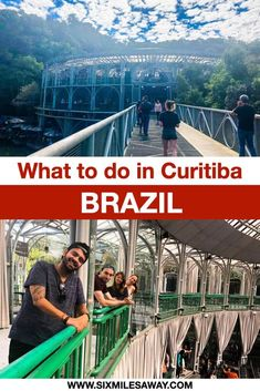 The 6 most famous sights in Curitiba - the European City in Brazil South America Destinations, Travel Destinations, Travel Guides, Travel Tips, Bus Number, Spotted Animals, Brazil Travel, Hidden Places, Responsible Travel