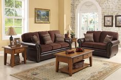 Homelegance Beckstead Living Set $950