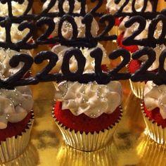New years cupcakes 2012