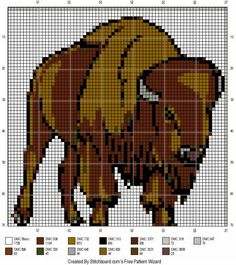Image result for buffalo pattern beading