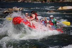 Idaho whitewater raft trips Middle Fork and Salmon River Family Adventure, Canoeing, Kayaking, Fairs And Festivals, Rafting, Idaho, Fly Fishing, Fork, Canoes