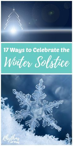 Winter Solstice Traditions & Celebration Ideas - Learn more about the solstice and find traditional celebration activities, crafts, and decorations you can make to celebrate the season! Includes links to summer solstice ideas! Yule Traditions, Winter Solstice Traditions, Winter Solstice Rituals, Solstice And Equinox, Summer Solstice, What Is Winter Solstice, Winter Equinox, December Solstice, Winter Kids