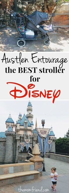 Headed to Disney? See how the Austlen Entourage stacks up as the best stroller for Disney vacations! Whether you are headed to Disneyland or Disney World, learn how this unique stroller performs for lots of different needs!       Baby registry essentials   baby gear   single stroller   double stroller   top strollers 2017   The Mom Friend