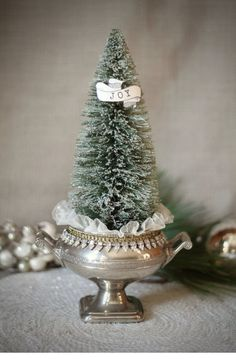 Silver Christmas Decorations, Rustic Christmas, White Christmas, Vintage Christmas, Victorian Christmas, Christmas Balls, Christmas Time, Christmas Wreaths, Xmas