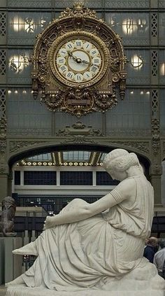 Musee d'Orsay Clock, Paris ~ Loved This Musee ~ Val