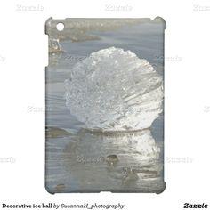 Decorative ice ball case for the iPad mini Ipad 1, Ipad Mini, Ipad Case, Ice, Cover, Shop, Painting, Decor, Decoration