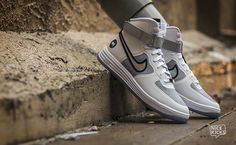 "the latest 41cbd 24565 Nike Lunar Force 1 Hi QS ""White on White"" Detailed Images Air Max 1"