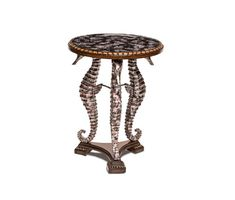 AICO Furniture - Discoveries Round Accent Table - ACF-ACT-AROL-000