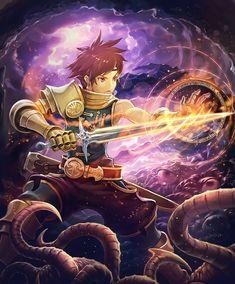 Card: Apprentice Swordmage Sword Mage, Hidden Art, Rage, Wonderland, Campaign, Fantasy, Illustration, Anime, Cards