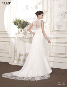 SALVA | Wedding Dress | 2015 Couture Collection | by Sara Villaverde | Villais (back)