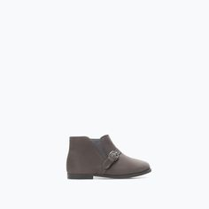 ZARA - KIDS - SOFT LEATHER BOOTS WITH ELASTIC PANEL