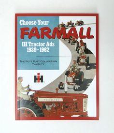 IH Farmall Tractor Ads Book 1939-1962