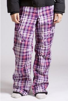 Cute snowpants that are perfect for hitting the slopes in!