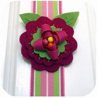 felt/ribbon flowers