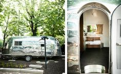 The Hotel Daniel in Vienna Airstream Trailer