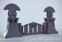 ArtStation - Heroes of the Storm Environment Fan Art, Yili Tan