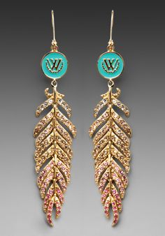 Wildfox Couture - Feather Earring