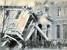 Mt. Vernon TORNADO, 1888  Jefferson Co. Courthouse